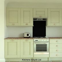 kitchen design milbourne doors in alabaster matt finish kitchens insynk ltd