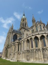 Bayeux Cathedral Unscathed by War