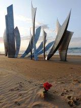Individual Tribute, Omaha Beach