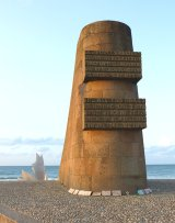 Old and New Memorials, Omaha Beach