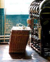 Wool Basket in Sunlight