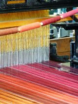 Loom with Bright Threads