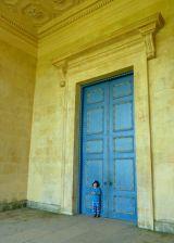 Blue Boy, Blue Door