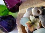 Pebbles Petals and Vases
