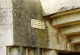 Plaque at Longues sur Mer German Battery