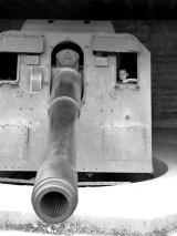 Preserved Gun at German Battery