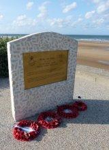 RAF Memorial at Omaha Beach