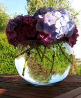 Sky-filled Flower Bowl