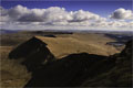 Cribyn, Fan y Bîg and Upper Neuadd Reservoir