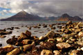 Loch Scavaig and the Cuillins