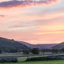 Littondale Sunset Pano