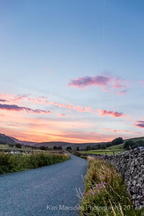 Littondale Sunset