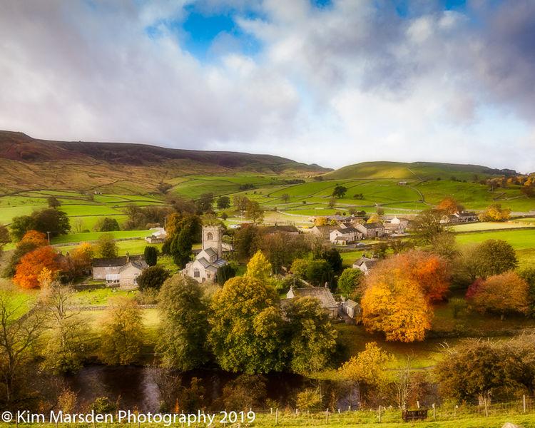 Burnsall in full colour