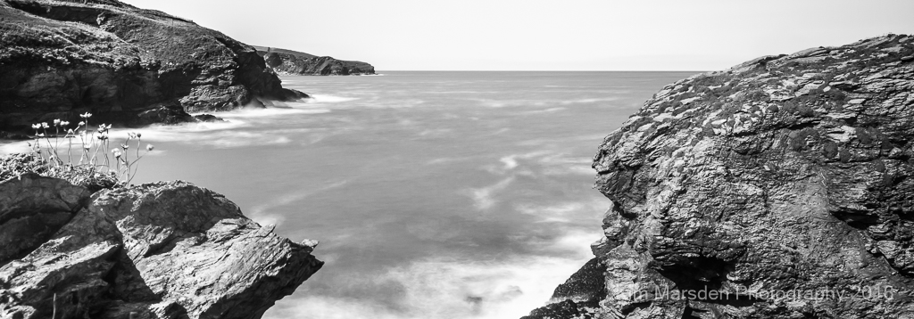 Towards Port Isaac from Port Gaverne