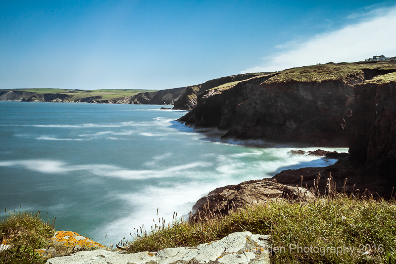 Around the bay from Port Gaverne