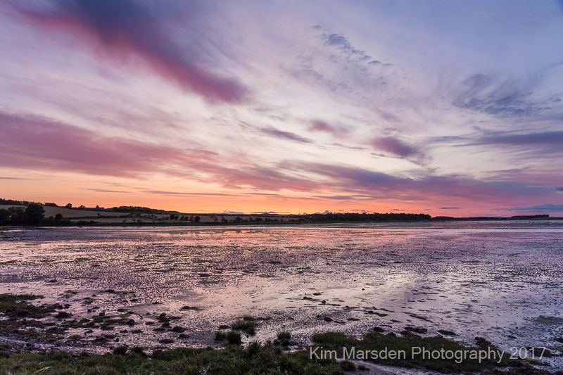 Budle Bay sunset