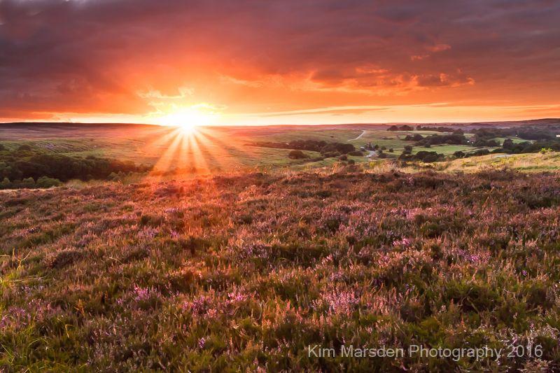 Sunsetting over Goathland