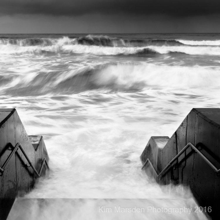 Rough Seas in Scarborough
