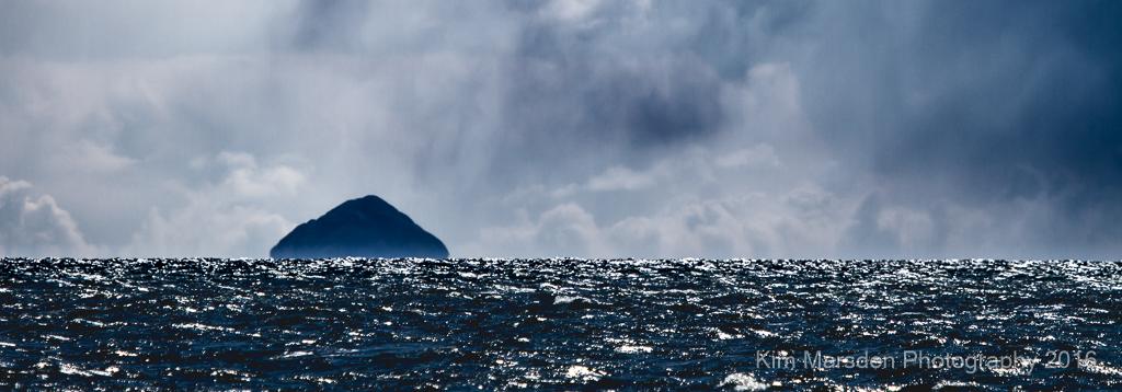 Storm over Ailsa Craig - panorama