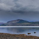 Last of the light over Loch Fyne (pano)