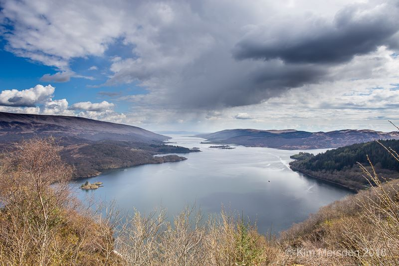 Storm over the Kyles of Bute