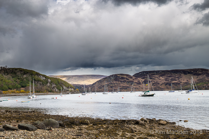 Storm clouds over Tighnabruaich