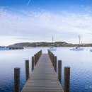Windermere jetty at dawn