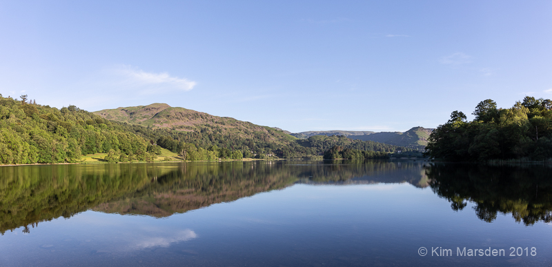 Grasmere in early morning light