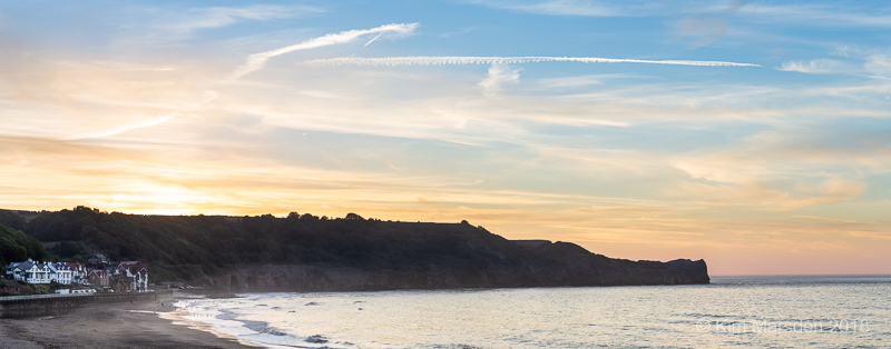 Sandsend in late evening light