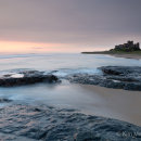 Dawn over Bamburgh