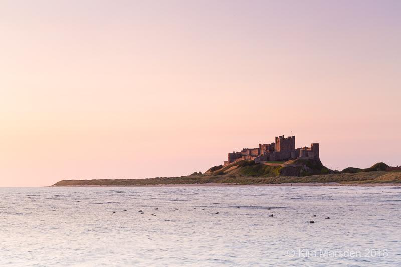 Bamburgh Castle colours