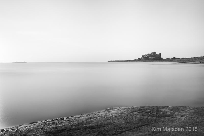 Bamburgh Castle long exposure