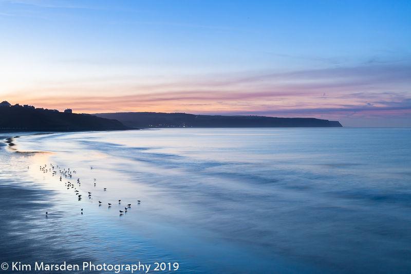 Towards Sandsend at dusk
