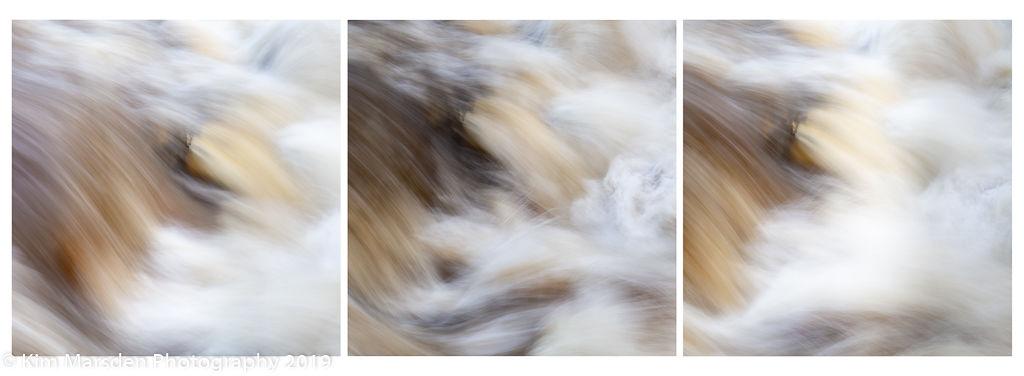 Movement triptych