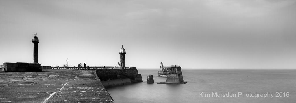 Whitby harbour mono1