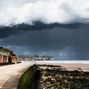 Moody skies & beach huts - Whitby