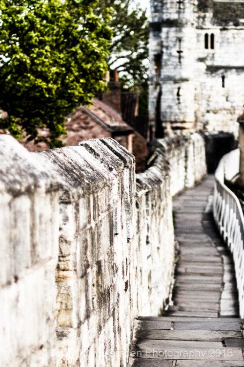 York City walls, looking towards Monkgate Bar