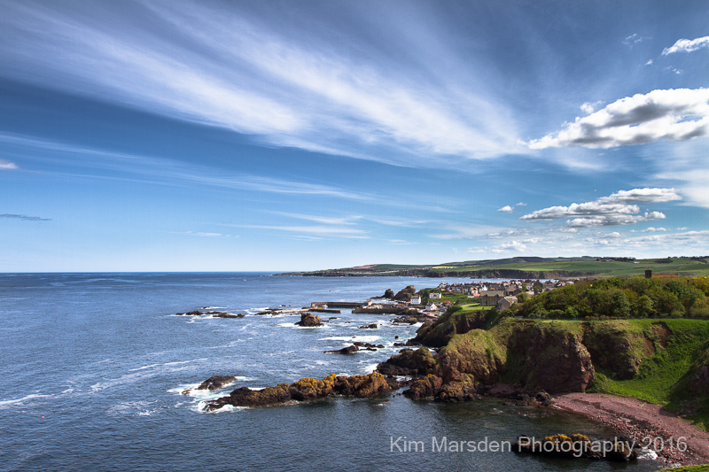 View towards St Abbs