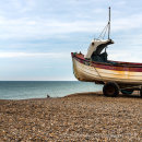 Lady Iris - North Norfolk fishing boat - Weybourne Beach