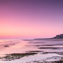 Bamburgh in early morning colour