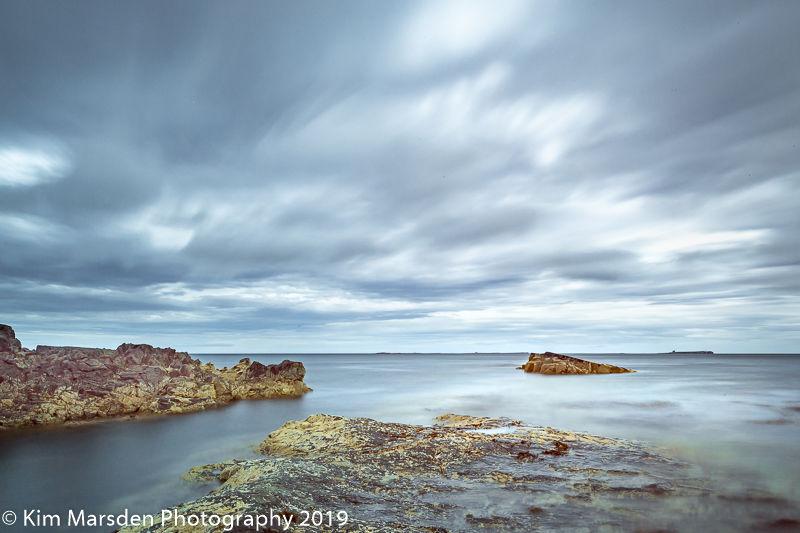 Farne Isles cloud cover