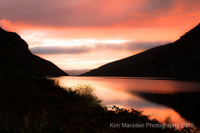 Elan Valley sunrise (landscape)