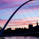 Newcastle silhouette