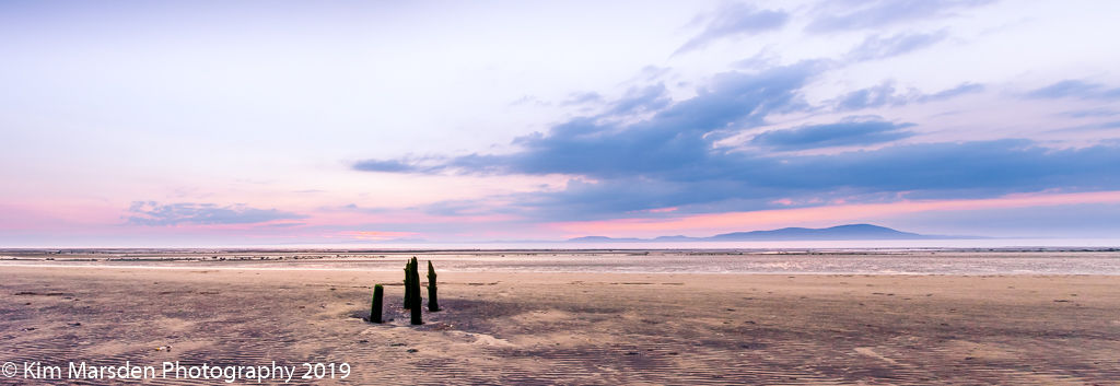 Setting sun from Allonby