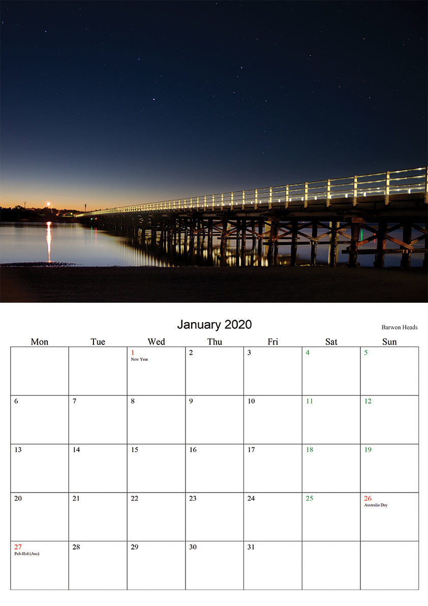 January 2020 Barwon Heads