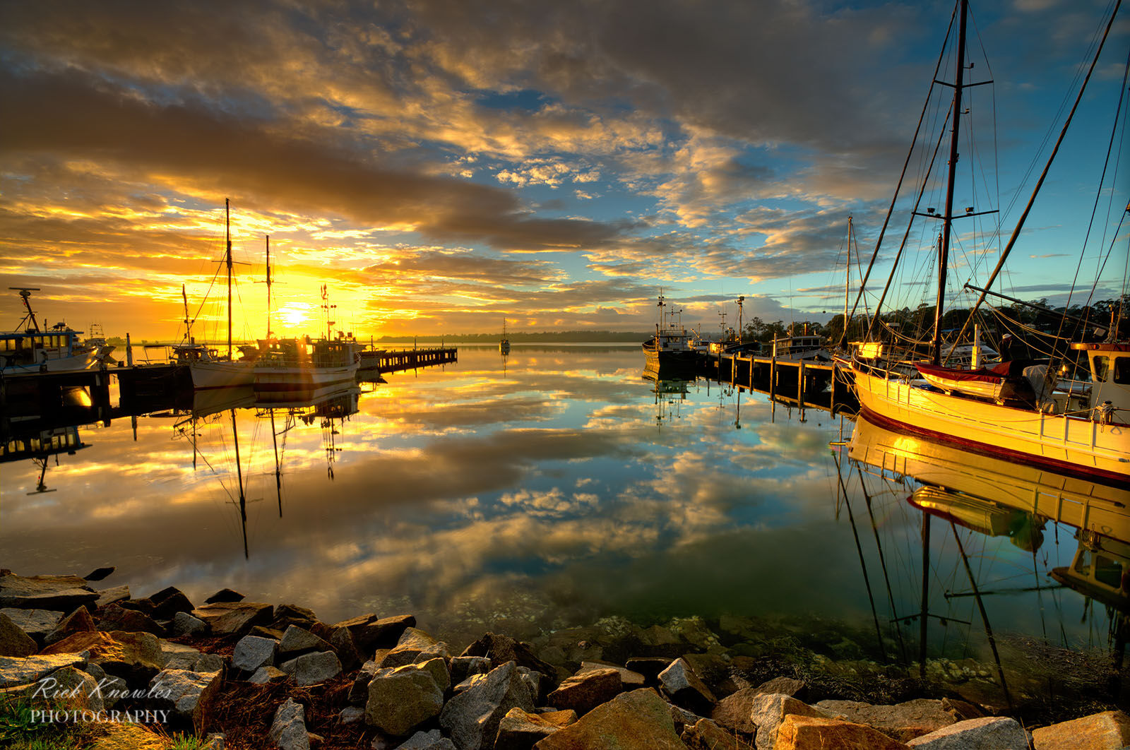 St Helens Dawn, Tasmania