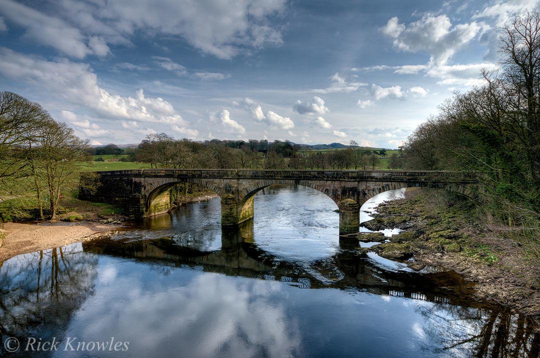 Bridge In English Countryside