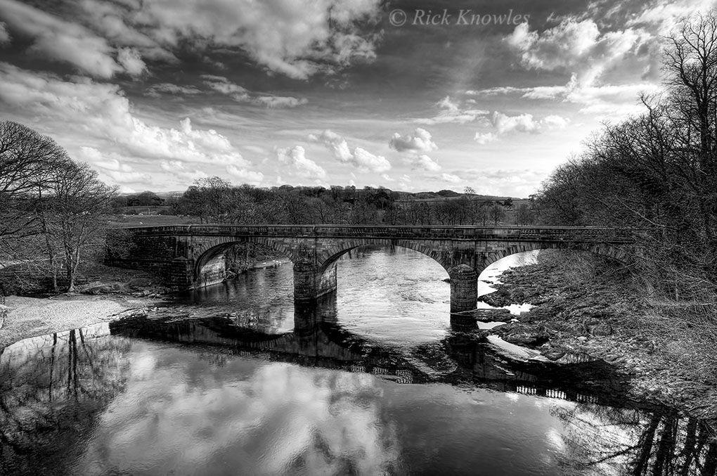 Bridge in Lancashire, England