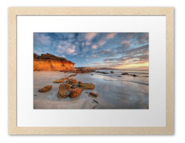 Natural Frame White Matt