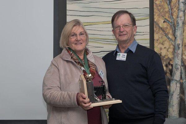Carol and Doug - Award for Excellence